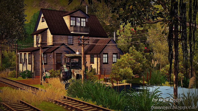 Top 10 sims 3 houses the marble bull for Classic house sims 3