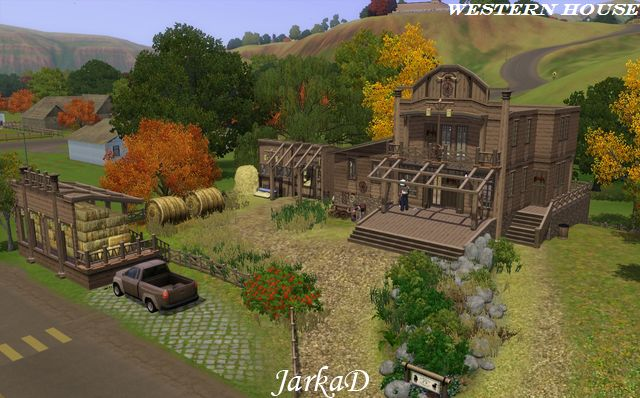 Best Ranches on The Sims 3 Exchange | The Marble Bull